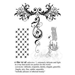 "49 & Market Clear Stamps 4""X6"" - Gabi's Ethereal"